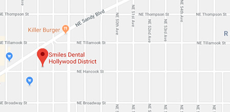 Hollywood Smiles Dental map