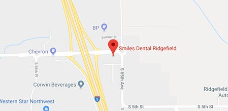 Longview Smiles Dental map