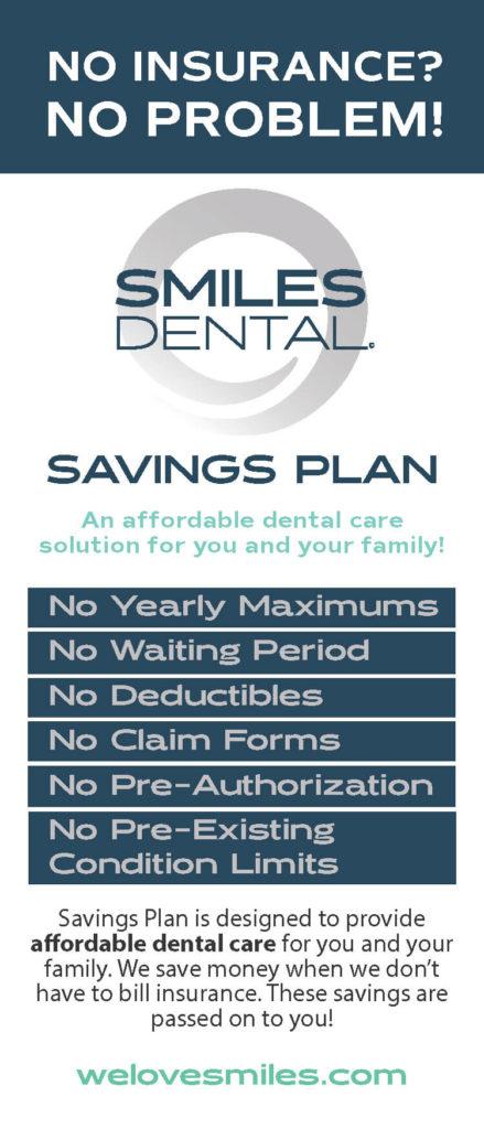 Dental Savings Plan - Smiles Dental PNW Dental Offices