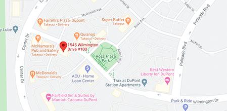 Dupont Smiles Dental map